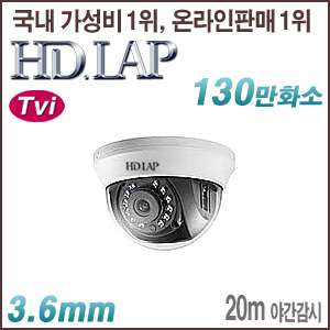 [TVi-1.3M] [HD.LAP] HTD-1102R [3.6mm 20m IR]